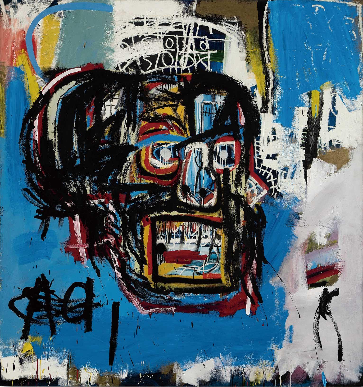 前澤友作以 1 億 1500 萬美元的天價在紐約蘇富比落槌成交這幅巴斯奇亞的《無題》,一舉成為藝壇焦點人物。