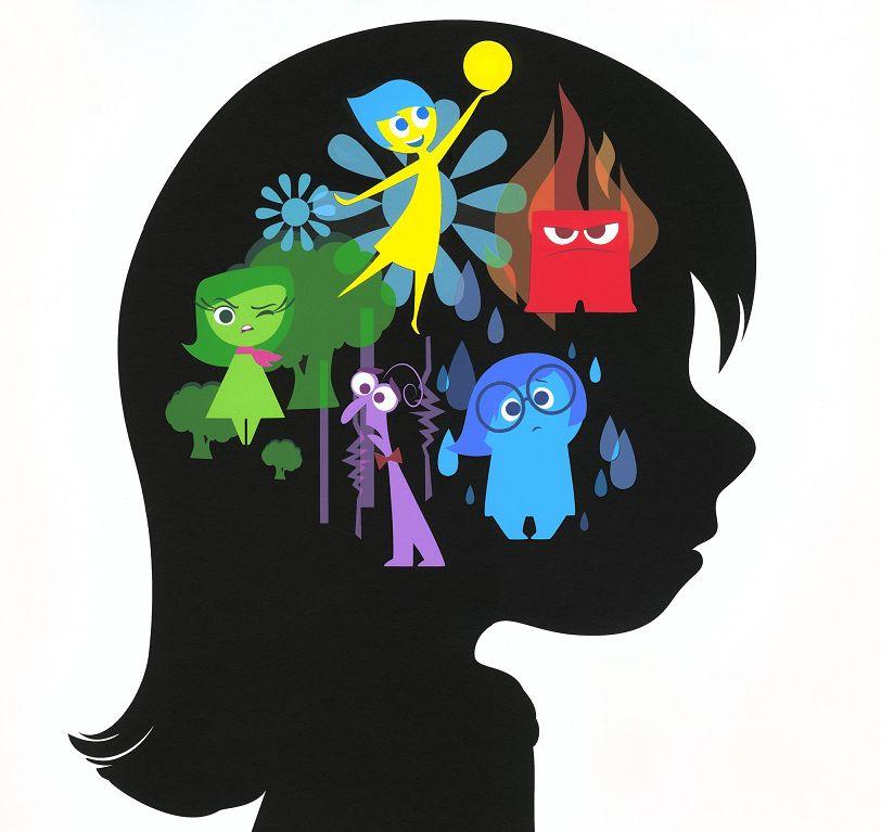 五種情緒分別是:樂樂、憂憂、怒怒、厭厭和驚驚。彼此間的平衡是很重要的。
